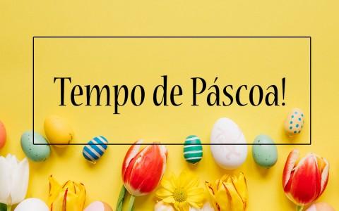 Tempo de Páscoa!