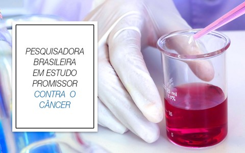Pesquisadora brasileira em estudo promissor contra o câncer