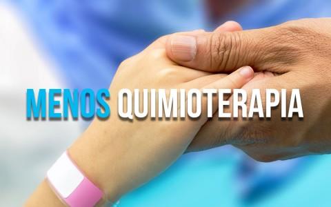 Menos quimioterapia para o câncer de cólon