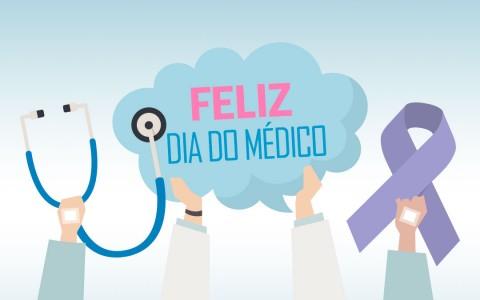 Feliz dia do médico