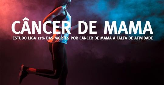 câncer de mama à falta de atividade