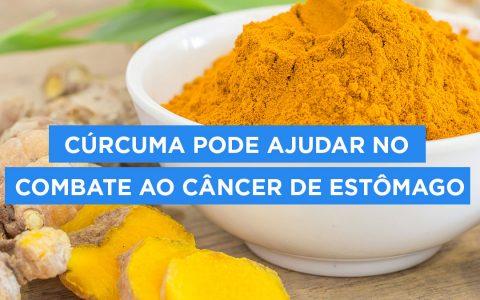 Cúrcuma pode ajudar no combate ao câncer de estômago